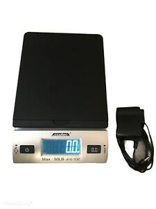Accuteck W 8250 50b Digital Shipping Postal Scale With Ac Adapter Black