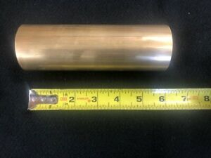 2 00 Round Brass Rod bar 6 00 Long Lathe Or Milling Stock