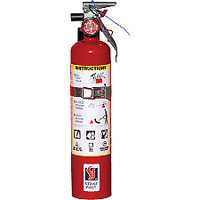 2 5 Lb Fire Extinguisher Abc Dry Chemical Rechargeable Dot Vehicle Bracket Ul