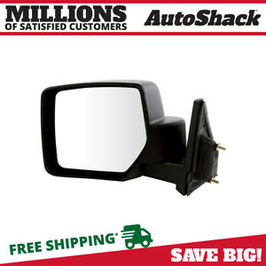 Side View Mirror Manual Black Driver For 2007 2016 2017 Jeep Patriot 2 0l 2 4l