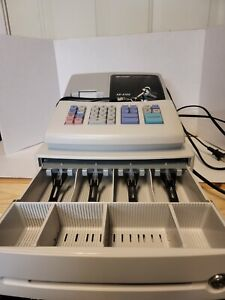 Sharp Xe a102 Electronic Cash Register With 2 Keys Drawer