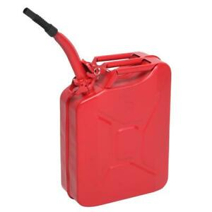 5 Gallon Gas Can Metal Jerry Gasoline Container Tank Emergency Backup Diesel