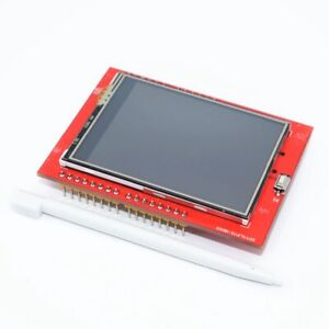 Lcd Screen For Arduino Uno R3 Board Support Mega 2560 With Touch Pen 2 4 Inch
