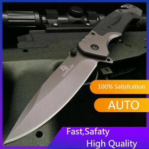 9quot; Spring Tactical Assisted Folding Knives Rescue Camping Survival Pocket Knife $9.99