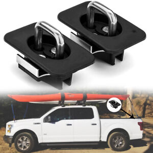Truck Bed Tie Down Anchors Ring Compatible Retractable For 2015 2020 F150 F250