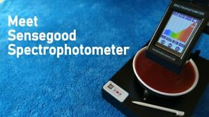 Cheap Color Spectrophotometer Price Portable Visible Spectrophotometer Colour