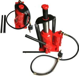 20 Ton Air Hydraulic Bottle Jack 40 000lb Heavy Duty Auto Truck Repair Lift New