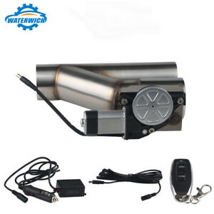 3 Inch Electric Exhaust Cutout Valve Catback Y Pipe E Cut Out System With Remote