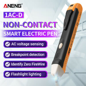 90 1000v Electric Non contact Voltage Tester Pen Ac Volt Alert Detector Sensor