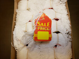 500 Sale Price Red Yellow Tags With String Large Merchandise Garment Coupon