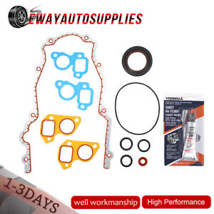 Ls Ls1 Ls2 Timing Chain Cover Gasket Seal Set For Chevy Gmc V8 Vortec 4 8 5 3 6