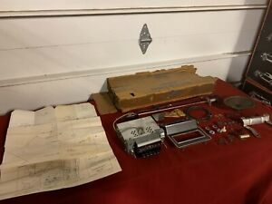 Nos 1969 Ford Mustang Am Radio Kit C9zz 18805 a Fomoco 69 Mach 1 Shelby Gt Boss
