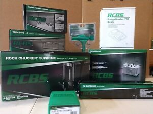 New RCBS Rock Chucker Supreme Master Reloading Kit with Accessories and Die Set $1549.99