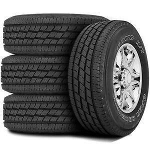 4 Tires Toyo Open Country H t Ii 245 75r16 111ts A s All Season