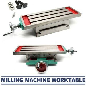 X y 2 Axis Cross Slide Bench Table Milling Drilling Machine Support Worktable
