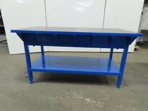 1 1 2 Thick Webbed Cast Iron Lay Out jig welding work Table Bench 72 x36 x38
