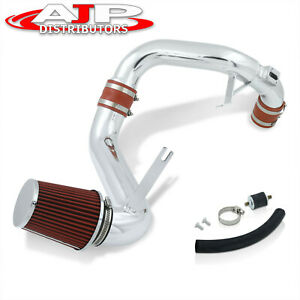 Race Cold Air Intake Ram System Polish Filter For 2012 2015 Honda Civic Ex Lx Dx