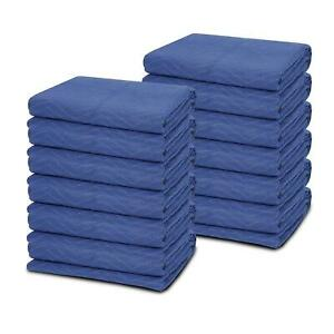 12 Heavy duty 80 X 72 Moving Blankets 65 Lb dz Pro Packing Shipping Pads