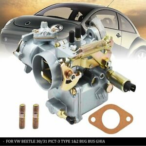 New Carburetor Fit For Vw Beetle 30 31 Pict 3 Type 1 2 Bug Bus Ghia