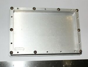 Milled Rf Shielded Aluminum Chassis Enclosure For 4 X 6 Pcb 10 Mm Depth