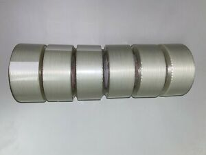 Cantech 17900 Filament Tape 2 In X 60 Yards 48mm X 55m 6 Rolls