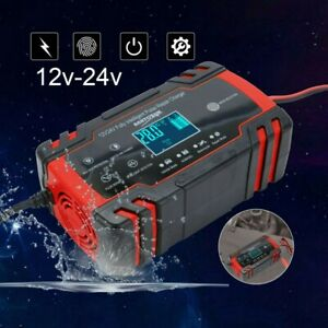 12v 24v Car Jump Starter Booster Jumper Box Power Bank Battery Charger Portable