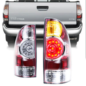 Fits 05 15 Toyota Tacoma Tail Lights Brake Lamps Taillight Aftermarket 2005 2015