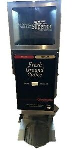 As is 25 Grindmaster 250 Dual Coffee Grinder Whole Bean Portion Controlled