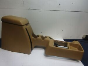 Jeep Wrangler Tj Center Console Box 1997 Cup Holder Full Length Saddle Tan 301