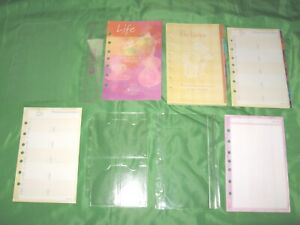 Compact 1 Year Undated Refill Tab Lot Day Runner Planner Franklin Covey 222