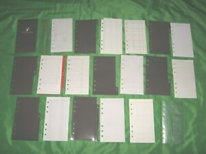 Compact 1 Year Undated Refill Lot The Organizer Fill Planner Franklin Covey