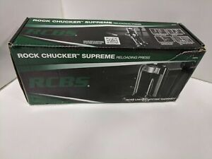 RCBS 9356 Rock Chucker Supreme Single Stage Press Reload Reloading $249.99