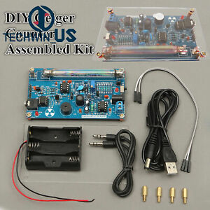 Assembled Diy Geiger Counter Kit Nuclear Radiation Detector Beta Gamma Ray L3us