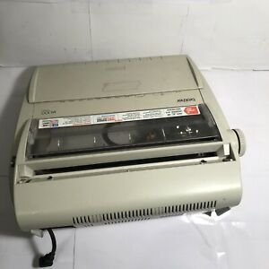 Brother Model Ml100 Standard Electric Typewriter Tested