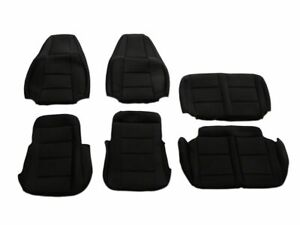 Trushield Neoprene Front And Rear Seat Covers Black 91 95 Jeep Wrangler Yj
