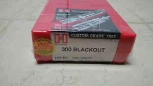 New sealed Hornady 300 Blackout 300 AAC Rifle Dies # 546349 $79.99