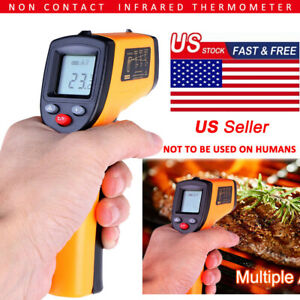 Non Contact Thermometer Lcd Infrared Temperature Ir Gun Industrial 58 626
