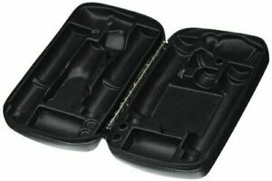 Welch Allyn Ophthalmoscope Retinoscope Combined Zipper Case In Black Color