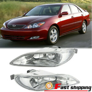 Fit Toyota Corolla 2005 2008 Camry 2002 2004 Left Right Clear Lens Foglight Lamp