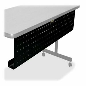 Lorell Rectangular Training Table Modesty Panel 1 97 Height X 18 9 Width X
