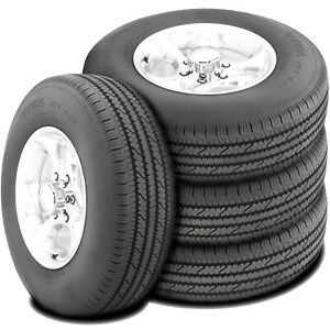 4 Bridgestone V steel Rib 265 Lt 245 75r16 120 116s E 10 Ply Light Truck Tire