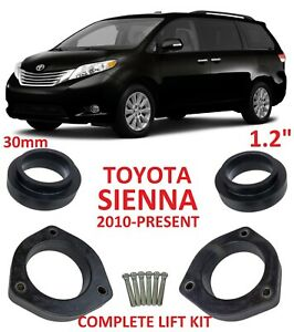 Lift Kit For Toyota Sienna 2010 2021 1 2 30mm Strut Coil Spacers Leveling Kit