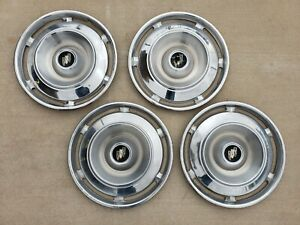 Oem 1961 Buick Lasabre Hubcaps Wheelcovers Center Caps Set Of 4 Free Shipping