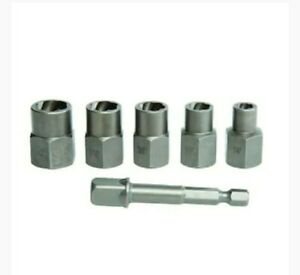 Craftsman 6 Piece Impact Rated Bolt Extractor Set