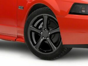 American Muscle 2010 Gt Style Wheel In Black 18x9 Fits Ford Mustang 1999 2004