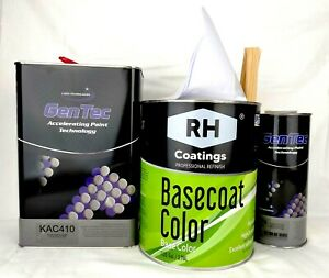 Gloss White Gallon Kit Two Stage Car Auto Paint Free Express Shipping