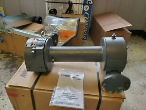Ramsey Lever Lock Style Winch Fits Various Flat Bed Tow Trucks With Worm Gears
