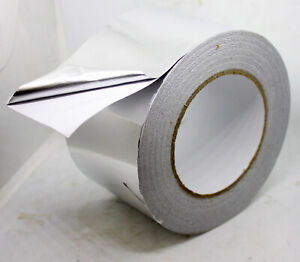 2 Rolls Aluminum Foil Tape 3 X 340ft Adhesive Hvac Sealing Air Duct Patching