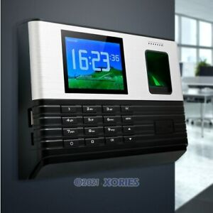 Biometric Fingerprint Access Control And Time Attendance With Id Card Reader usb