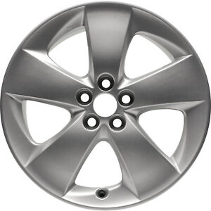 New 17 X 7 Silver Replacement Wheel Rim For 2010 2015 Toyota Prius